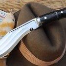 """8"""" Full Tang 3 Fuller Heavy Farmer Khukuri, Gurkha Blade EGKH Nepal Kukri Knives"""