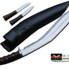 "16"" American Eagle Gripper Handle Kukri - Hand Forged Full Tang Khukuri Knife"