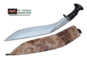 "Hand Forged Gurkha Knife,13.5"" Blade Cheetlage Light Version Traditional Kukri"