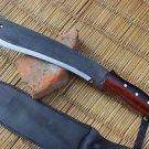 "13"" Hand Forged Blade Rust Free Machete Full Tang Blade EGKH Nepal Knife, Kukri"