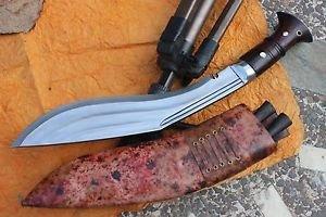"""12""""3 Fullers Full Tang Farmer kukri,EGKH Khukuri,Hand Forged Traditional Knife,"""