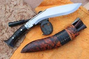 "10"" Panawal Jungle Rough Kukri,EGKH Khukuri, Nepal Hand Forged Gurkha Knife"