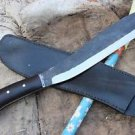 "12.5"" Parang Rust Free Machete, Hand Forged Full Tang Blade, Nepal Knife, Kukri"