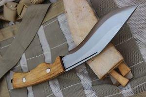 "6"" Hand Forged Blade Afghan Kukri,Ex Gurkha Khukuri House Khukuri Military Knife"