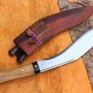 "12"" Traditional Khukuri Machete, EGKH Kukri, Nepal Hand Forged Full Tang Knife"
