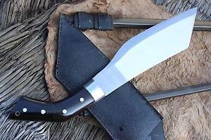 "10"" Parang Jungle Machete, Hand Forged Full Tang Blade EGKH Nepal Knife, Kukri"