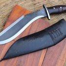 "12"" Survival Outdoor Blade Kukri, EGKH Nepal Hand Forge Knife, Khukuri Knives"