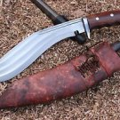 "11"" Gurkha Iraqi Brown Gripper Guard Handle Kukri, 3 Fullers Blade EGKH Khukuri"