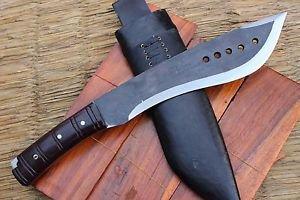 "12"" Rust Free Book Of ELI Machete, EGKH Nepal Hand Forge Knife, Khukuri Knives"