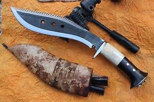 "10"" Dragon Survival Rust Free Blade Kukri,EGKH Khukuri,Nepal Hand Forged Knife"