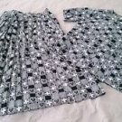 Pendleton Sophisticates Classic skirt shirt top blouse suit Womens 10 set outfit