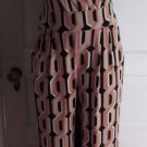 Womens New York & Co One Piece Mod Daisy Chain Wrap Jumpsuit Catsuit Romper sz S