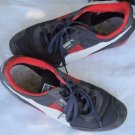 Puma Lab II Distressed SNEAKERS Shoes Mens 9.5 Sport Lifestyle Navy Red White