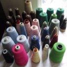 Vintage 36 pc Lot 2 & 3 Cord Thread Ardmore Mercerized Cotton Metco Cranska USA
