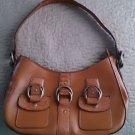 Emilie M. Brown leather purse bag pocketbook hobo satchel