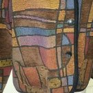 Vintage Kokopelli New Mexico Collection Tapestry Woven Jacket Blazet Womens Sz M