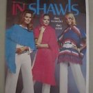 Minerva In Shawls Knitting & Crochet Manual Knit Patterns Vintage Leaflet # 2524