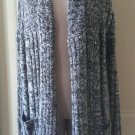 NWT Urban Behavior Mohair Wrap Shrug Chunky Oversized Boyfriend Knit sweater L