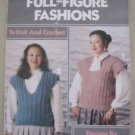 Minerva Full Figure Fashions Plus Knitting & Crochet Manual Patterns Leaflet 610