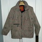 Vintage Fire and Ice Streetwise Sportswear Puffer Hip Hop Parka Jacket Mens sz L