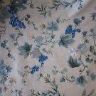 Waverly Chianti Print Grapes Cotton Screenprinted Woven Upholstery Fabric 2 yds
