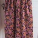 Womens Susan Bristol Cotton Velvet Velveteen Velour Pleated Midi Long Skirt 6