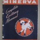 Minerva Complete Knitting Manual Book vol 61 Knit & Crochet Patterns Vintage A-Z