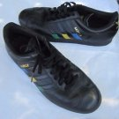 Adidas Samba Gazelle Colored 3 Stripes Distressed SNEAKERS Shoes Mens 11 Black