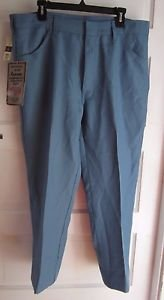 NOS Big Yank by Sport Abouts Action Fit Blue Jeans Pants Mens 38x32 Rockabilly