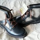 Eastland Chukka Extreme Fit Hiking Boots Mens 9.5 Leather Canvas FACTORY SAMPLES
