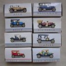 """LOT OF 8 VINTAGE MODEL CARS 2 1/2"""" SIZE READERS DIGEST COLLECTION NIB Miniature"""
