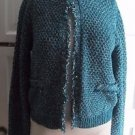 Womens Eureka Christos Garkinos The Everything Jacket Open Front Sweater Tweed S