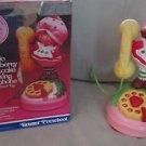 Vintage Hello Strawberry Shortcake Phone 1984 Rotary Talking Telephone Toy Box