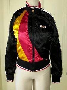 Ecko Red Reversible Retro Satin Quilted Old School Rollerskating Street Jacket S