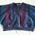 Vintage Pendleton Lightweight Wool Cardigan sweater Jacket Womens sz XLarge USA