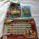 Lot of Alphabet Beads Sets Seashore Treasures Box Pony Plastic Kids Crafts