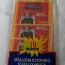 Vtg 60 Disney/Panini Hunchback of Norte Dame Album Stickers/Autocollants Fleer