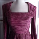 George F. Couture Ruched Ribbon Look Maxi Long Formal Prom Pageant Dress 6 USA