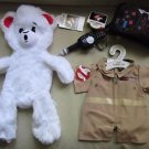 NEW Build A Bear Supernatural Ghostbusters Bear Set Collector Gift BABW Plush