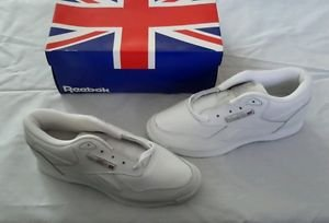 NOS Reebok Claasic Walker white Leather Low Sneakers Shoes Womens 8 11-23372