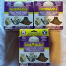 Lot of 3 FastMache Activa Papier Mache Sculpting Fast Setting Celluclay Clay