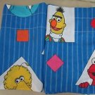 Lot 2 Vintage Sesame Street Valances Curtains Stevens Made in The USA Characters