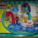 Play-Doh MAGIC SWIRL Sweets Cafe Ice Cream Shoppe + Bonus Shop Dough Playdoh