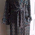 Victoria's Secret Satin After Hours Fit & Flare Maxi Kimono Robe Tie Womens M L