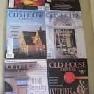 Old House Journal Back Issues Magazines Lot of 6 Entire Year 1993 DIY Remodeling
