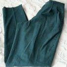 NOS Vintage Lands' End Corduroys Unfinished/Pleated Pants Slacks Womens sz 10