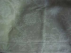 Peacock Alley Large QUILTED Brocade Pair 2 PILLOW SHAMS King Size Quality Italy