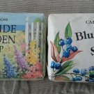Lot of 2 CAPE SHORE SCENTED BARS OF SOAP Blueberry Seaside Garden Yarmouth Maine