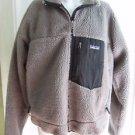 Patagonia Retro X Classic Berber Deep Pile Sherpa Fleece Jacket Mens L Gray 90s