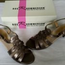 $89 Ros R Hommerson Diana New Bronze 130 Strap Sandals sz 9N Womens Shoes Kitten